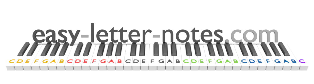 piano notes instruction