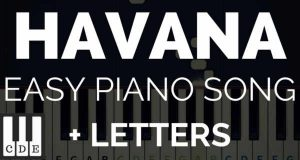 havana piano tutorial