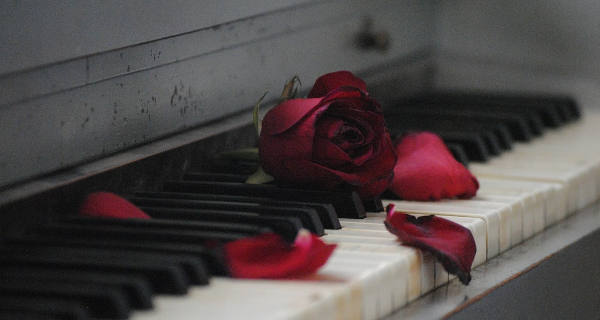 romantic music notes